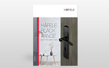 Architectural Hardware Black Range