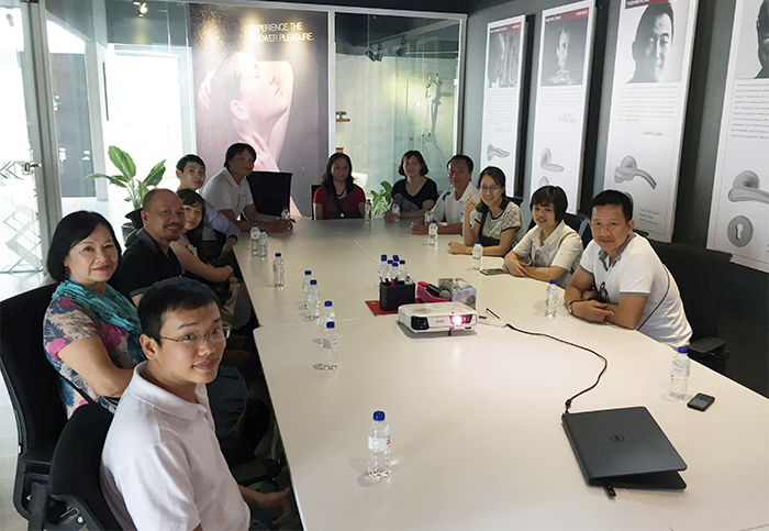 11 Excellent Sales Achievement Dealers' Visit from Häfele Vietnam