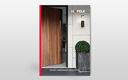 Häfele Home - Door Hardware Solution Leaflet