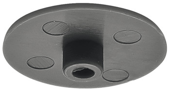 Cover cap, For Häfele Minifix<sup>®</sup> 15 without rim, from wood thickness 15 mm
