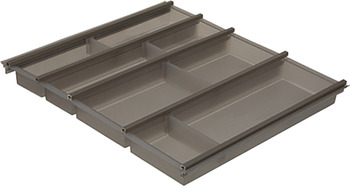 Cutlery insert, Häfele Matrix Box P, plastic, injection moulded