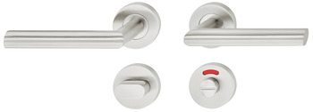 Door handle set, Stainless steel, Startec, model LDH 2188