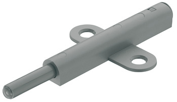 Push catch, for screw fixing into 32/37 mm series drilled holes, with magnet