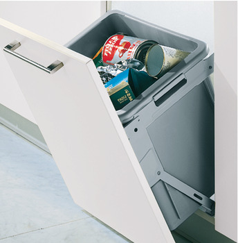 Single waste bin, 30 litres
