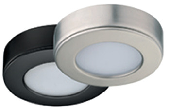 Surface mounted housing, round, for Häfele Loox LEDs